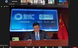 中国品牌亮相第六届加拿大服装采购展