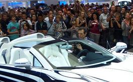 法兰克福车展:量产车有颜值也拼科技
