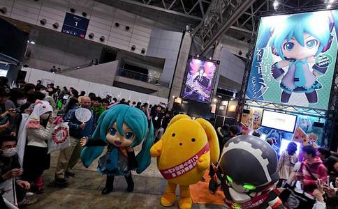 日本東京動漫展覽會AnimeJapan
