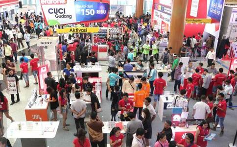 印尼雅加达消费电子展览会Indocomtech