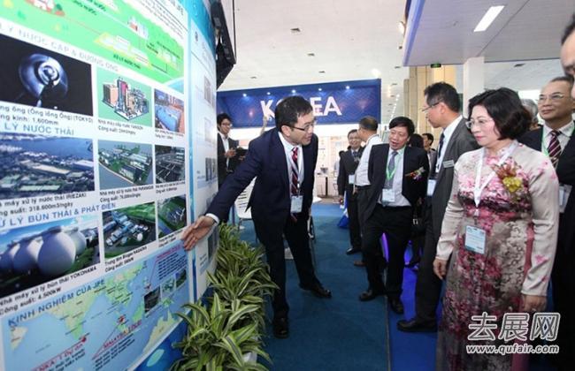 裕隆环保亮相2017越南水处理展VIETWATER