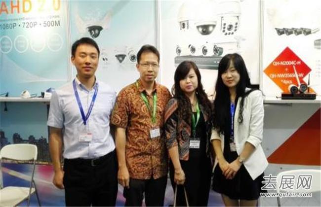 印尼互联网展为参展商和专业观众之间构筑了一个交流平台