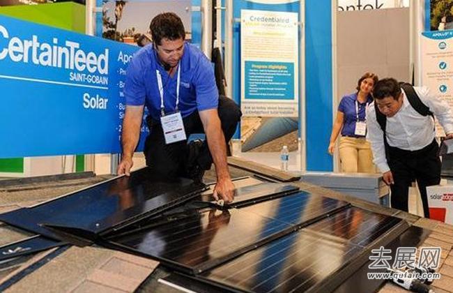 美国太阳能展:美国将成为全球第一大太阳能光伏市场