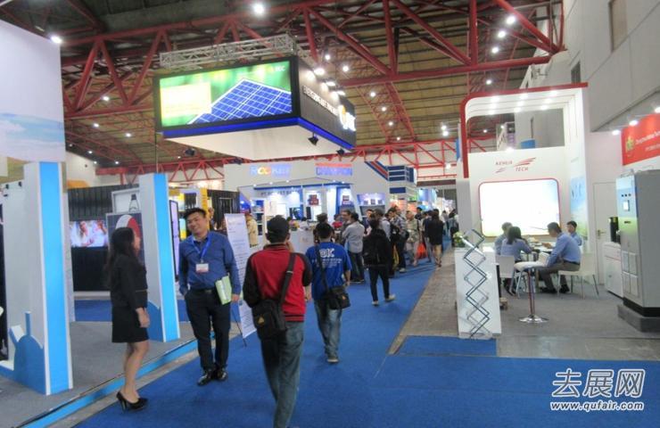 南控电力亮相印尼太阳能展会,为全球光伏能源贡献更多力量!