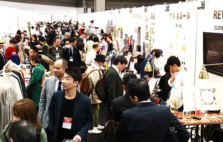 2019年日本東京時尚服裝展覽會秋季FASHION WORLD TOKYO