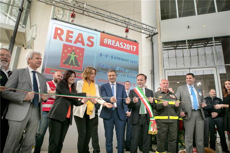 为应急部门举办的领先交易会「意大利消防展」