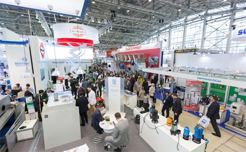俄罗斯莫斯科水处理展览会ECWATECH