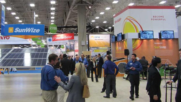 美国太阳能展进行时,中国企业新技术引现场关注