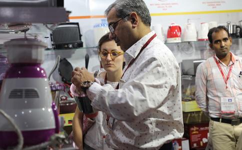 印度加尔各答家庭皇冠国际注册送48展览会春季Houseware show