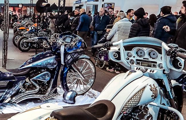 意大利维罗纳摩托车展览会MBE