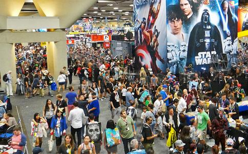 美国圣地亚哥动漫展览会Comic Con