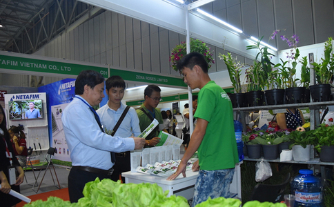 越南胡志明果蔬及花卉园艺展览会HORTEX VIETNAM
