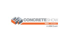印度孟買混凝土展覽會Concrete Show India Mumba