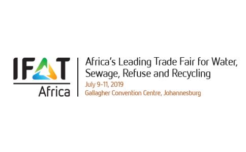 南非約翰內斯堡環保展覽會IFAT