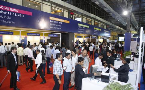 印度孟买太阳能光伏展览会Intersolar India