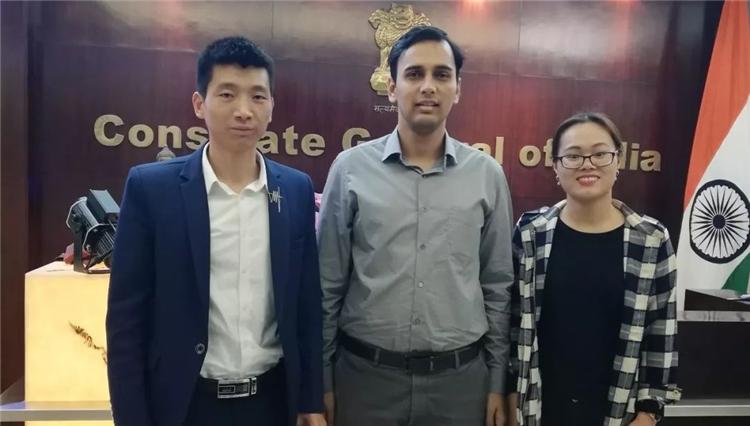 「广州玻璃展」走访印度总领馆,促中印产业交流