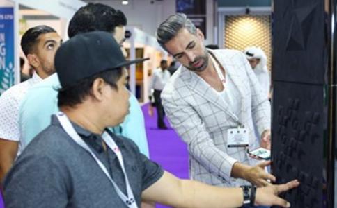 阿联酋迪拜地面及墙面装饰材料展览会Surface Design