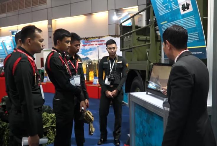 泰国曼谷军警防务展览会DST