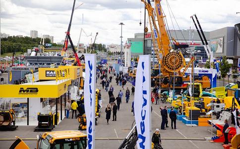 俄羅斯莫斯科工程機械寶馬展覽會BAUMA CTT Russia