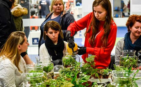 俄羅斯莫斯科園藝園林花卉展覽會FlowersExpo