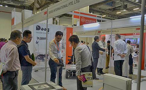 新加坡機器人展覽會SIRE
