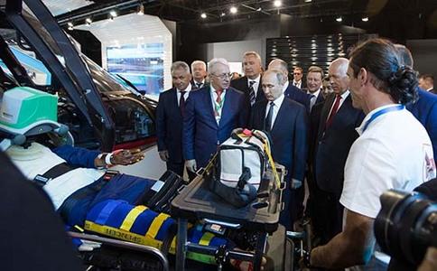 俄罗斯莫斯科航空展览会MAKS