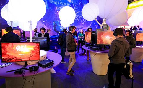 法国巴黎游戏展览会paris games week