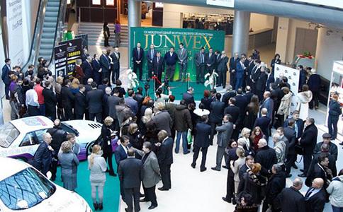 俄罗斯圣彼得堡珠宝钟表展览会Junwex