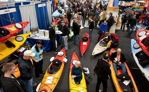 美国俄克拉荷马水上运动展览会Paddlesports Retailer
