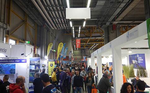 意大利博洛尼亚潜水设备展览会Eudi