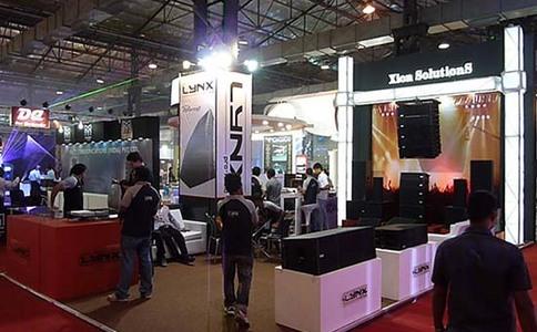 印度孟買專業音響燈光樂器及技術展覽會Palmexpo