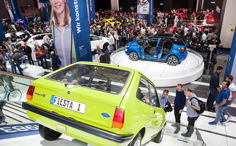 德国法兰克福轿车展览会IAA