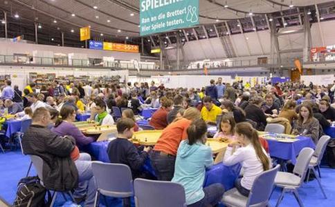 德国斯图加特游戏展览会SPIELEMESSE