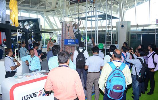 印度孟买劳保展览会OSH