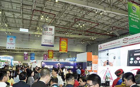 越南胡志明皇冠娱乐注册送66机械设备展览会VINAMAC EXPO