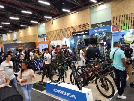 哥伦比亚波哥大自行车展览会BiciGO