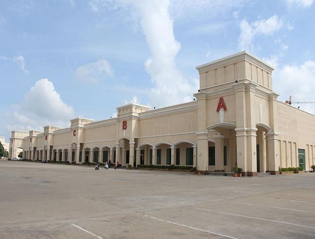 柬埔寨金邊鉆石島會展中心Diamond Island Convention and Exhibition Center