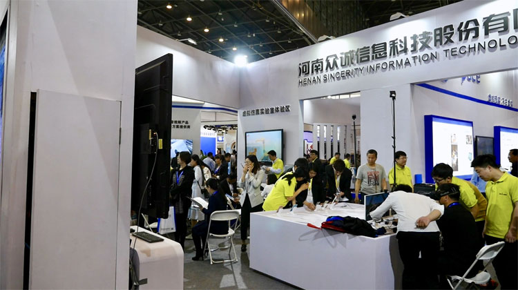 郑州教育展开幕在即,布展工作紧锣密鼓进行中