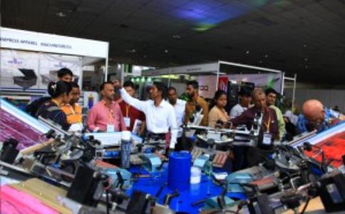 斯里兰卡丝印和数码印花展览会Sreent Print India