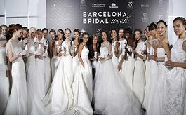 西班牙巴塞罗那婚纱展览会Barcelona Bridal Week