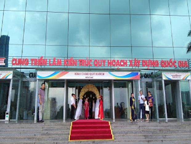 越南國家會議中心(NECC)National Architectural Planning & Construction Exhibition