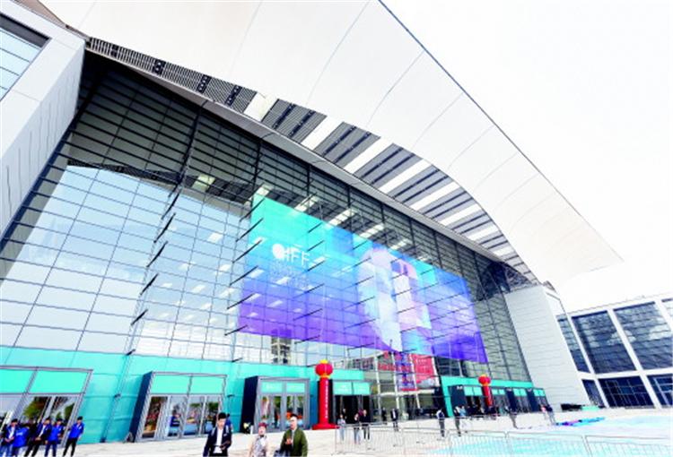 青岛新地标!红岛国际会展中心正式竣工开馆