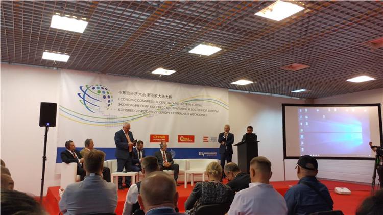 中国波兰贸易博览会举办,在华沙看'中国制造'