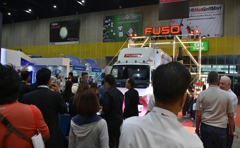 泰国曼谷巴士卡车展览会Bus&Truck