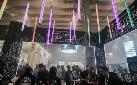 法國巴黎電子煙展覽會Vapexpo