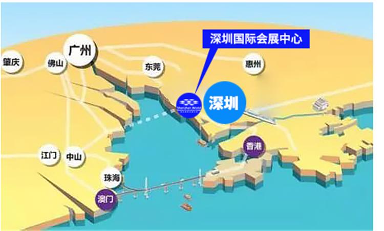 '深圳國際會展中心'助力粵港澳大灣區加速崛起