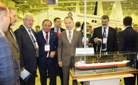 俄罗斯莫斯科海事展览会River Port Expo