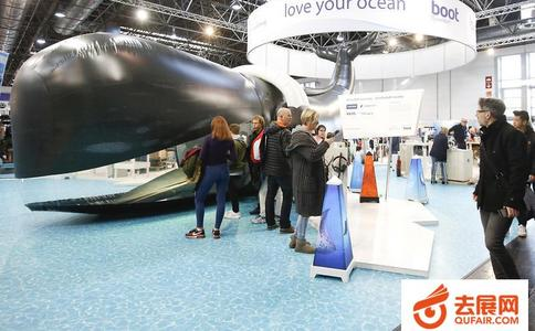 德国杜塞尔多夫船舶游艇及水上运动展览会Boot