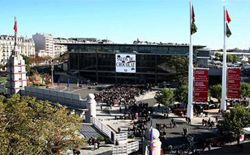 巴黎凡尔赛门巴黎会展馆Paris Expo Porte de Versailles