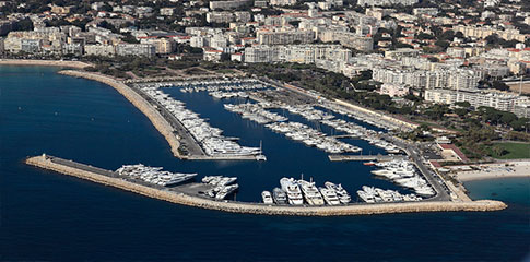 法国戛纳港Cannes Vieux Port & Port Pierre Canto